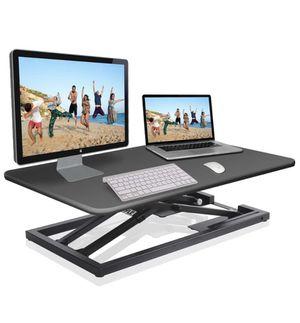 Pyle Ergonomic Desktop Workstation Converter for Office or Gaming Use for Sale in Las Vegas, NV