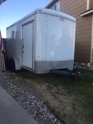 Cargomate dual axle, 12 foot trailer for Sale in Colorado Springs, CO