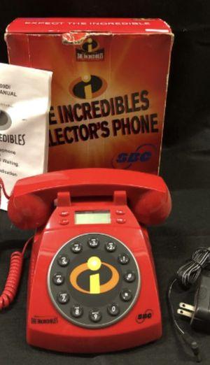 Disney Pixar Incredibles Collectible Phone for Sale in Allen, TX