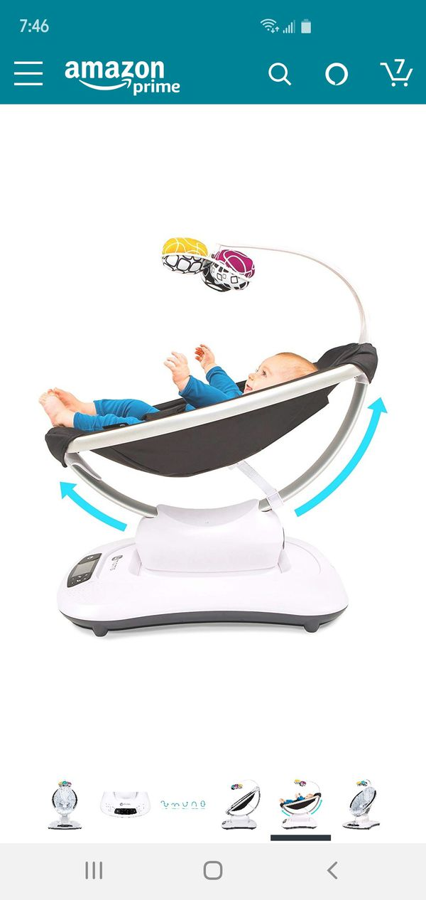 4 Moms Mamaroo (used a couple of times for 1 month)