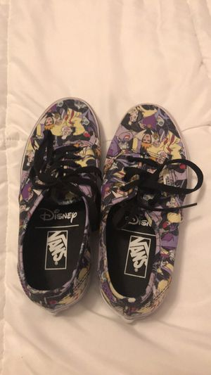 Disney Villain Vans size 7 for Sale in Brighton, CO