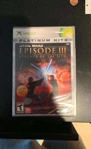 Star Wars: Episode 3 - Revenge of the Sith Video Game on XBOX for Sale in Manassas, VA