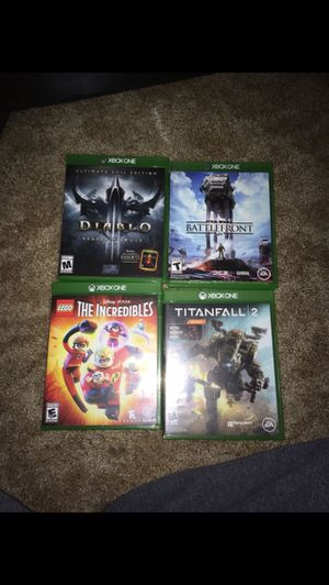 Xbox One games for Sale in Everett, WA