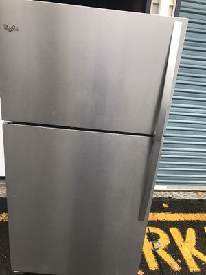 Whirlpool stainless steel refrigerator for Sale in Kent, WA