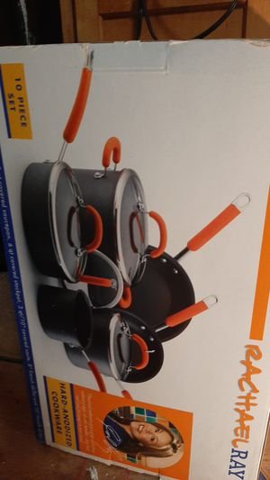Rachael ray 10 piece cookware for Sale in Spout Spring, VA