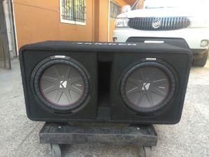 12 inch kicker sub 1200 watt amplifier for Sale in Oakland, CA