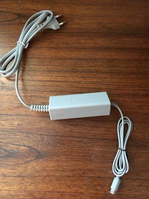 Charger for Nintendo Wii U Console Gamepad EU Plug Power Supply Adapter AC for Sale in Garland, TX