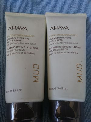 Free ahava foot cream - never used - still sealed for Sale in Rancho Cucamonga, CA