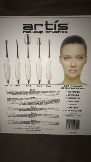Artis Elite Collection Mirror Finish 5 Brush Set for Sale in Severn, MD
