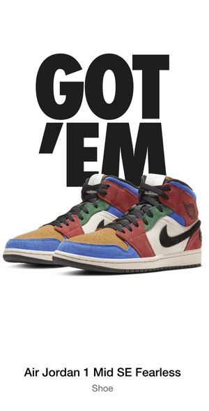 """Air Jordan 1 """"Blue the great"""" Mens Size 10.5 for Sale in Jurupa Valley, CA"""