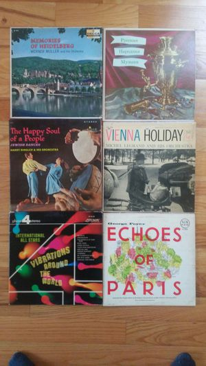 Lot of 6 international/world music vinyl lp records for Sale in Philadelphia, PA