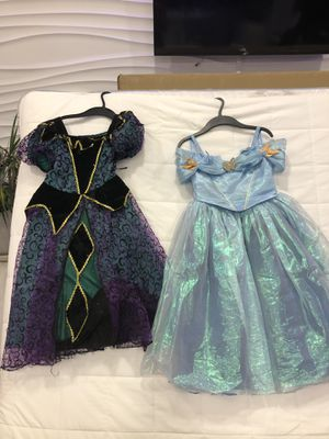Halloween costumes for 5-6 years old girls for Sale in Fort Lauderdale, FL