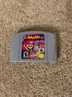 Super Mario Smash Bros Nintendo 64 for Sale in Dearborn, MI