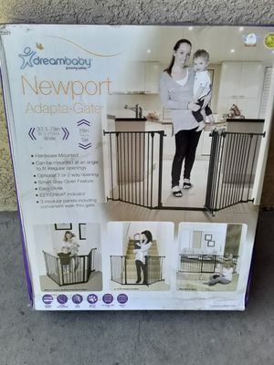 Newport adapta gate child safety gate for children and animals for Sale in Fontana, CA