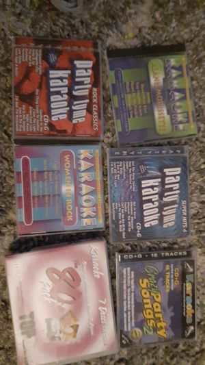 Early 2000s karaoke cd lot!! for Sale in Port Canaveral, FL
