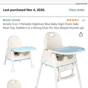 Baby High Chair, Unboxed, Brand New for Sale in Los Angeles, CA