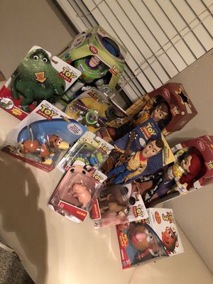 Toy story collectibles prices vary for Sale in Turlock, CA