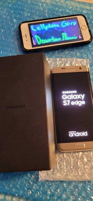 Samsung S7 edge Unlocked (( minor dead spot )) for Sale in Phoenix, AZ