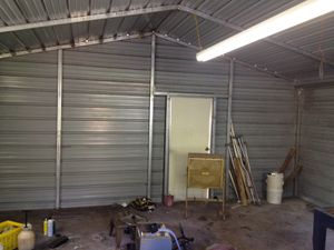 Metal 20'x20' shed for Sale in Valrico, FL