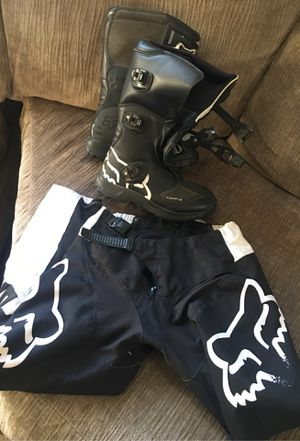 Boys motorcycle gear for Sale in Rialto, CA