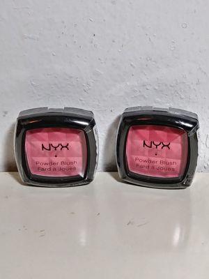 New Sealed NYX Makeup Powder Blush Bundle of 2 (Bundle#73) for Sale in Homestead, FL