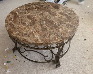 Coffee table with granite top for Sale in Franklin, TN