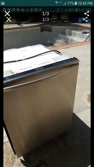thermador stainless steel in and out dishwasher not draining water otherwise worked great till last week was originally $1400 for Sale in Tracy, CA