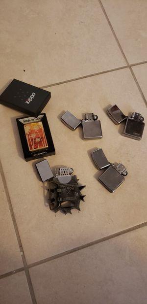 Zippo and Belt Lighter for Sale in Houston, TX