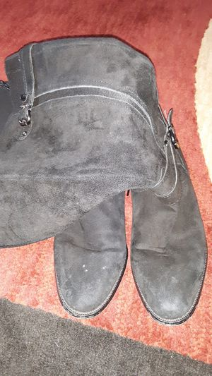 Black pat lunther boots for Sale in NO POTOMAC, MD