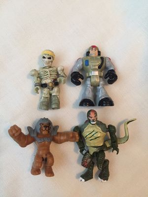 Set of 4 Miniature action figures for Sale in Phoenix, AZ