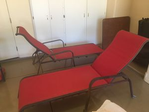 Chase lounge chairs for Sale in Scottsdale, AZ