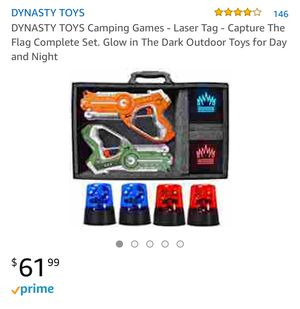 Laser tag / capture the flag game for Sale in Alexandria, LA