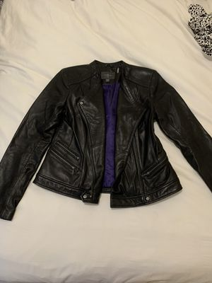 Cole Haan Black Leather Jacket - Never Been Worn - Medium for Sale in New York, NY