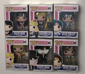 Funko POP sailor Moon set of 6 figure lot for Sale in SIENNA PLANT, TX