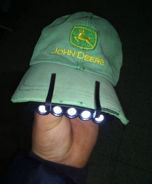 5 LED Headlight Cap Hat Clip on Lamp Light for Sale in Spring, TX