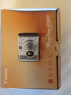 Canon Powershot A560 Digital Camera for Sale in Peoria, AZ