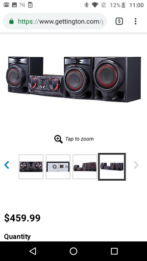 Lg LOUDR home stereo system for Sale in Westminster, CO