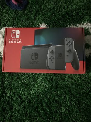 Brand new 2020 Nintendo switch THIS IS BRAND NEW gray for Sale in FL, US
