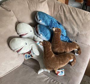 Disney's Finding Dory Stuffed Animals ~ Bailey, Destiny & Rudder for Sale in West Jordan, UT
