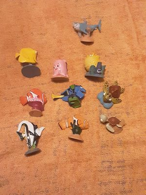Collectable Finding Nemo little figures good perfect condition selling $20 for all for Sale in Miami, FL