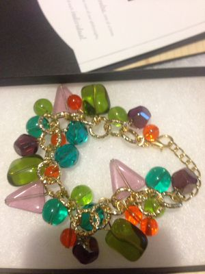 Multicolor gold bead bracelet for Sale in Nashville, TN