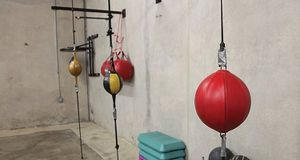 Hanging Boxing Speed Bag Punching Ball for Gym MMA Training for Sale in Ontario, CA