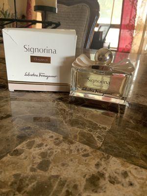 Signorina eleganza perfume 3.4 oz new in box for Sale in Elmwood Park, NJ