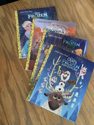 FROZEN a little golden book set (4 books) for Sale in Pasco, WA