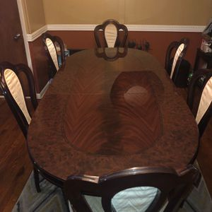 Table and glass cabinet Set for Sale in East Hartford, CT