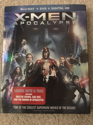Xmen Apocalypse (blueray/dvd/digital Hd) for Sale in Poway, CA