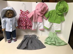 Handmade 18 in doll clothes for Sale in Darien, IL