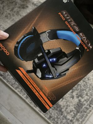 Gaming headset for laptop, pc, mobile and tablet for Sale in Santa Clarita, CA