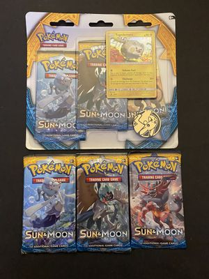 Pokemon Sun and Moon Pack Bundle Lot SEALED for Sale in Rochester, NY