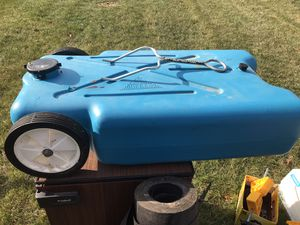 Blue boy rv camper waste tote tank for Sale in Middleborough, MA